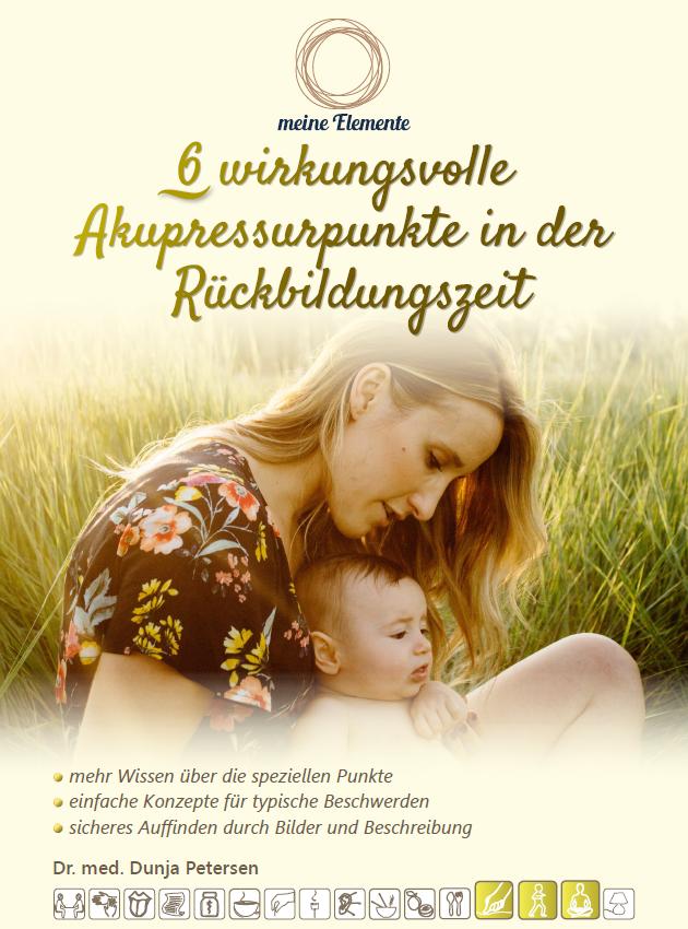 Cover des Ebooks Akupressurpunkte in der Rückbildungszeit