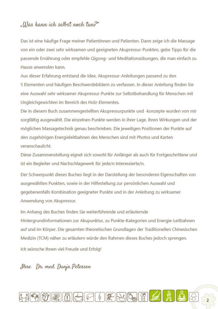 eBook Akupressur-Punkte und Konzepte für das Element Holz