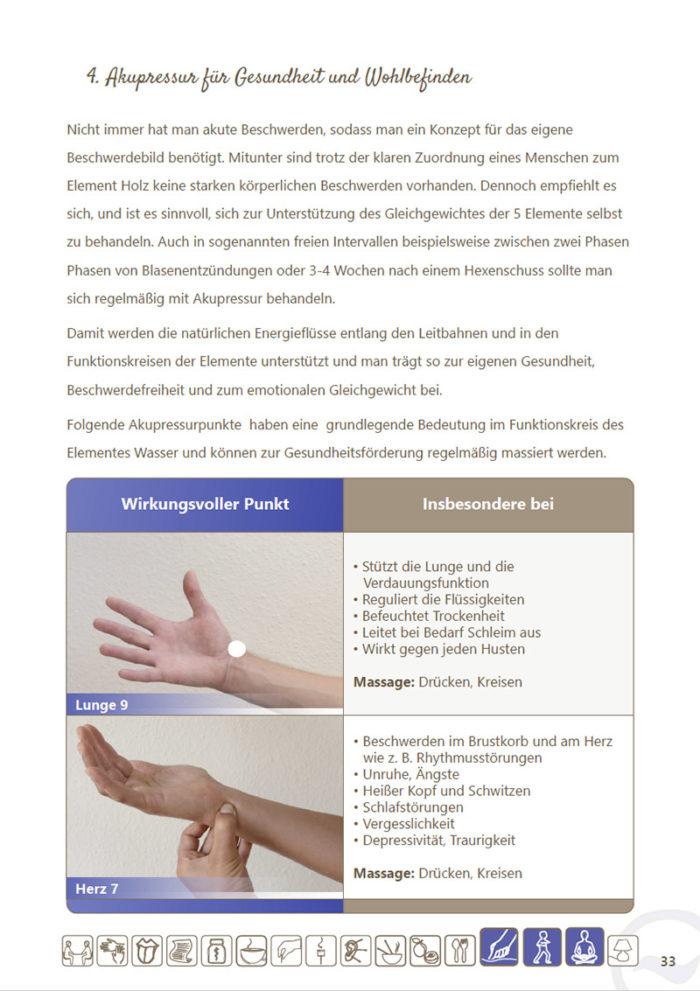 eBook Akupressur-Punkte und Konzepte für das Element Wasser