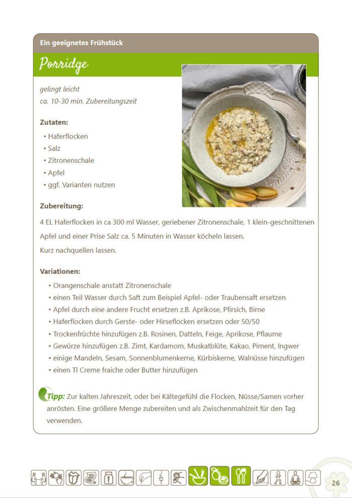 eBook Ernährungstipps und Rezepte für das Element Holz